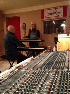 Mike & Sue in the studio 1